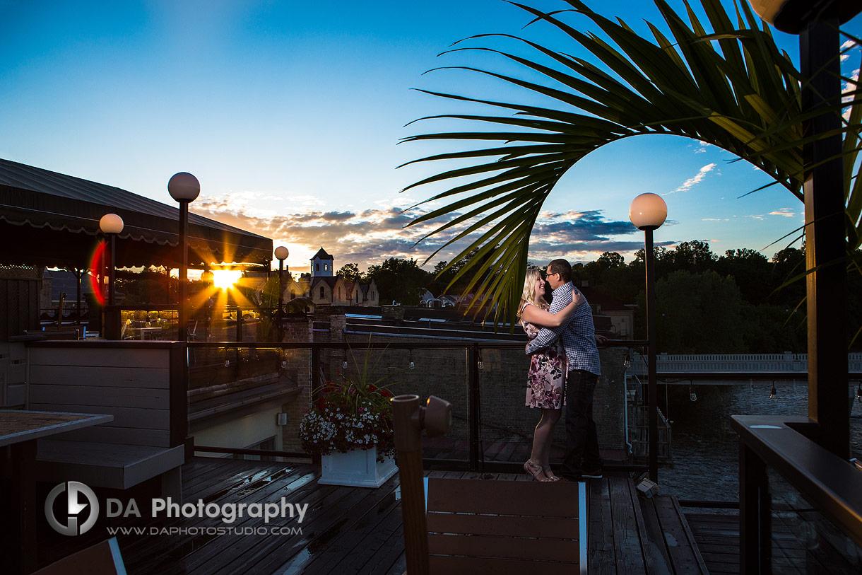 Stillwater Sunset Engagement Photos in Paris
