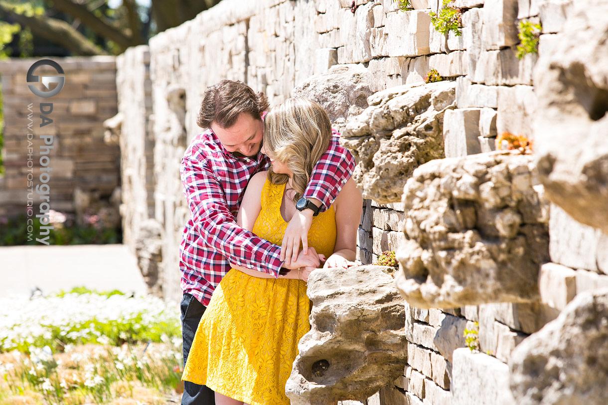 Engagement Photos at Rock Garden