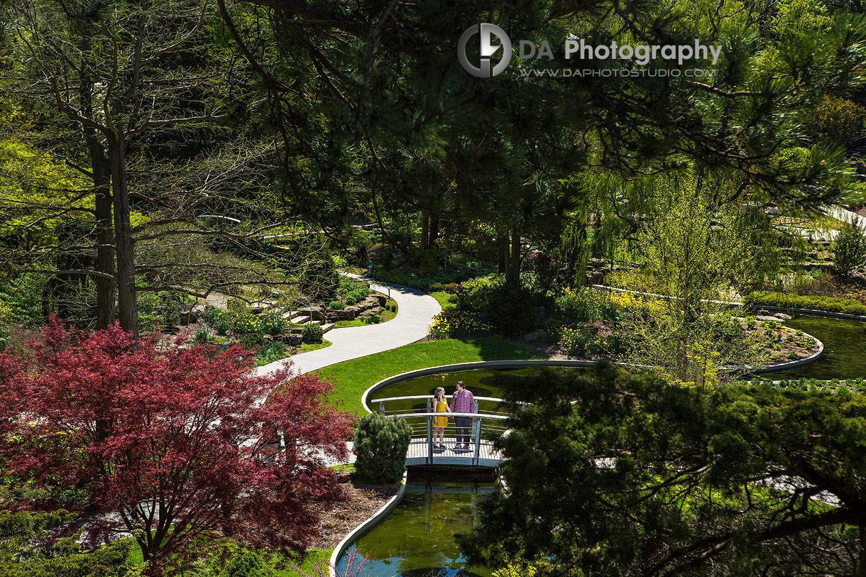 Engagements at Rock Garden in Burlington