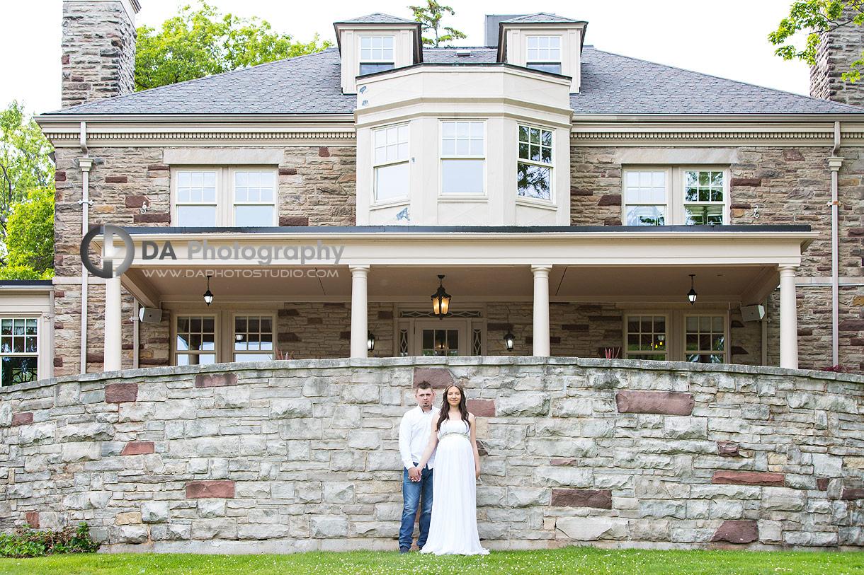 Paletta Mansion maternity photography