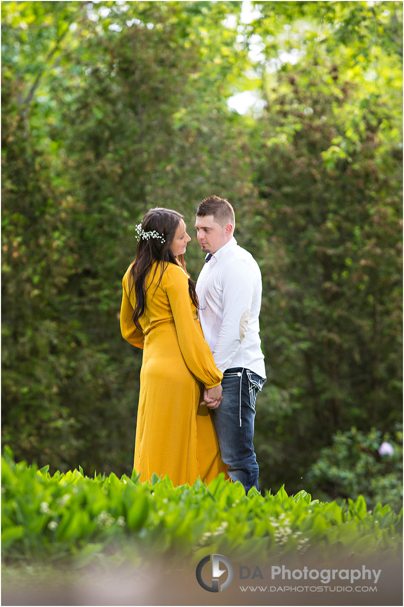 Intimate maternity photography