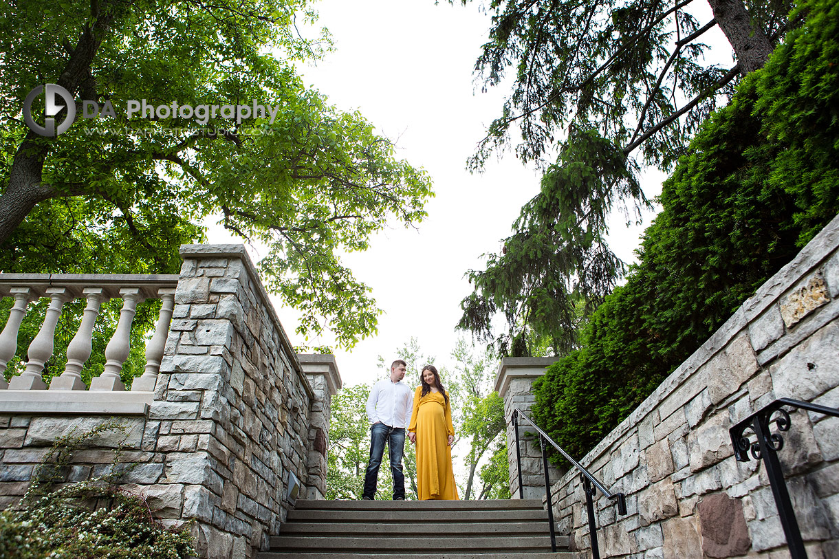 Maternity picture at Paletta Mansion
