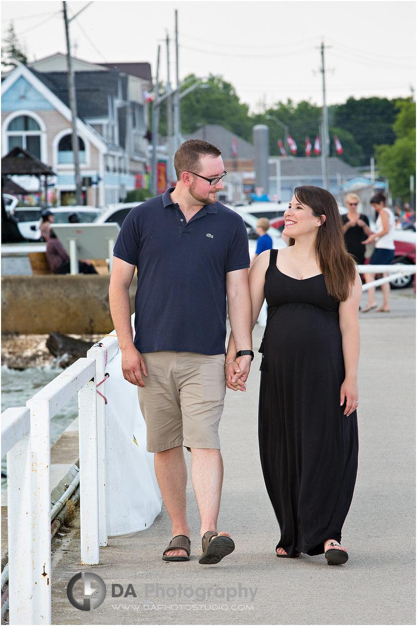 Port Dover maternity photos
