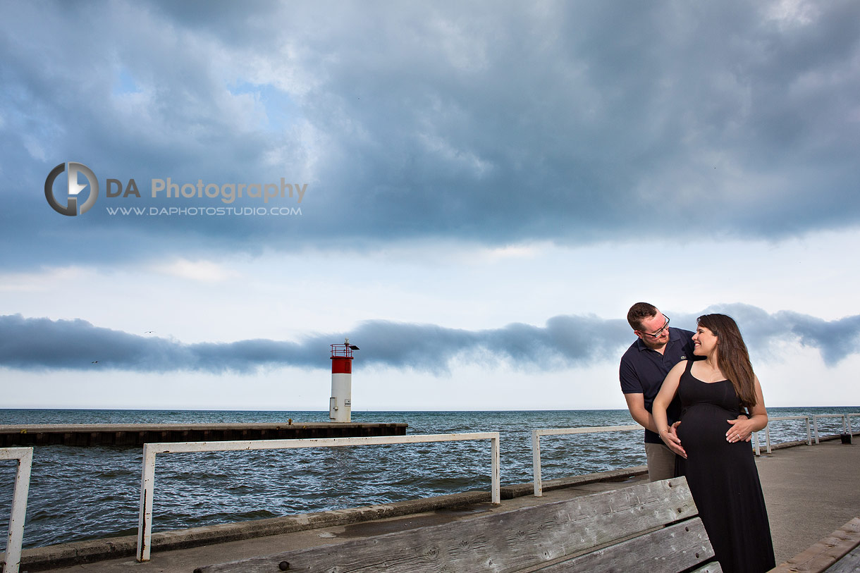 Photos at the lighthouse in Port Dover