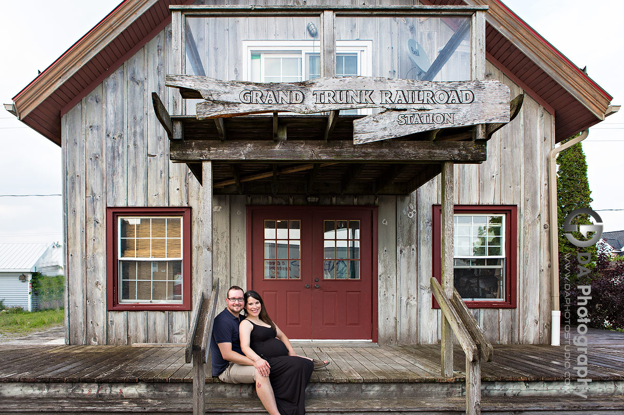 Maternity photography in Port Dover