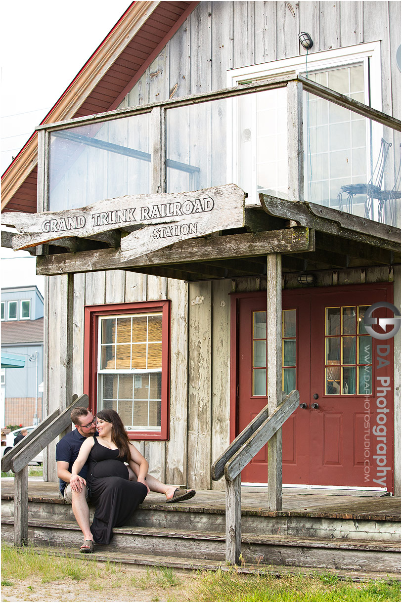 Maternity photographs in Port Dover