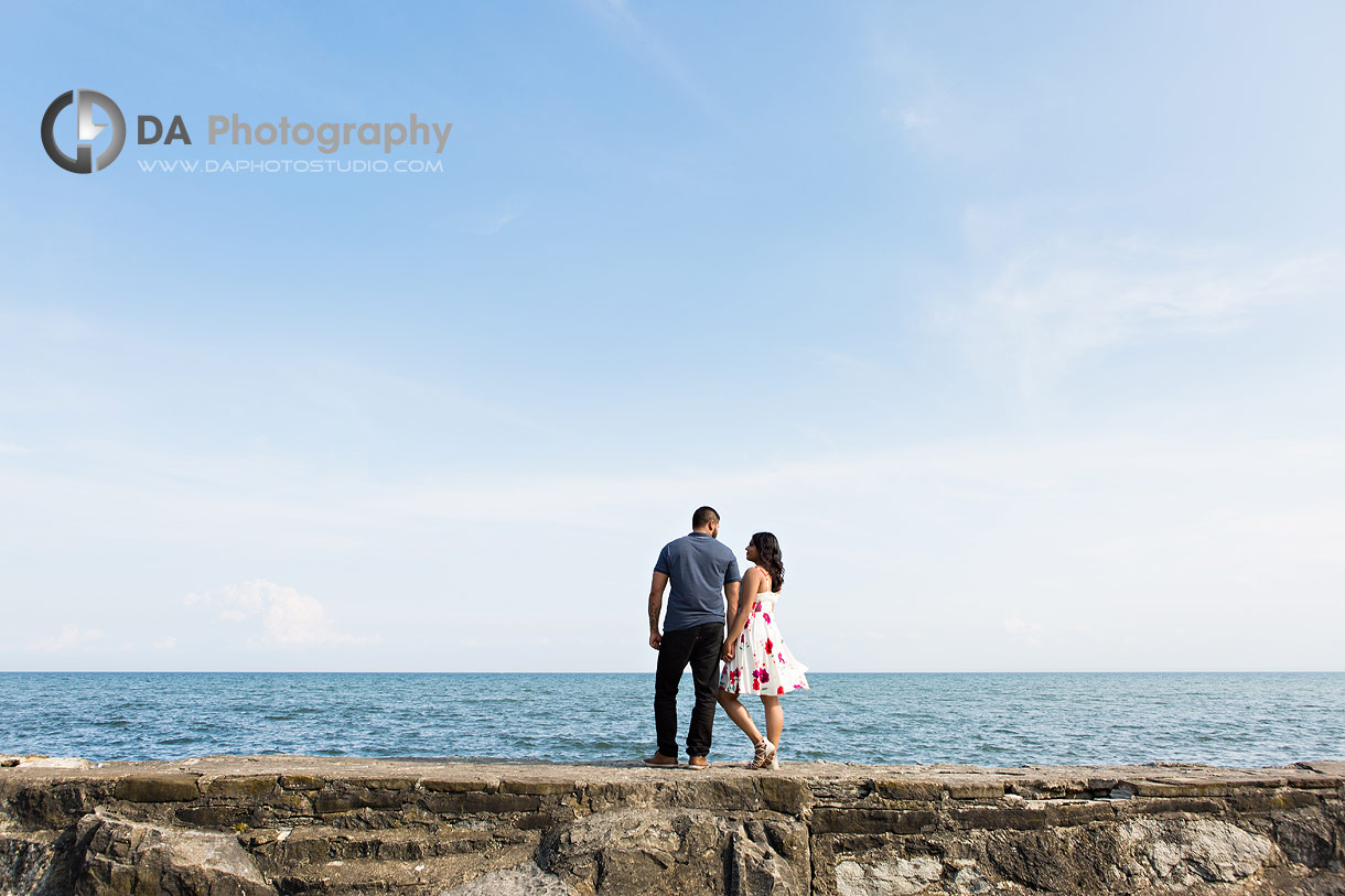 Top engagement photographer in Oakville