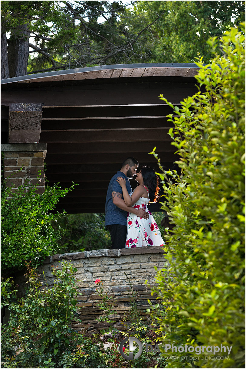 Engagement photography in Oakville
