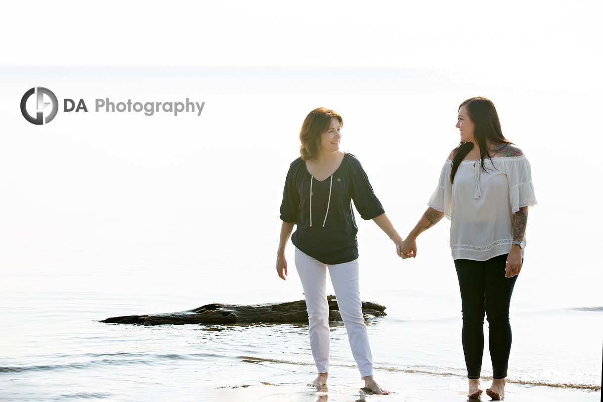 Beach photography in Burlington