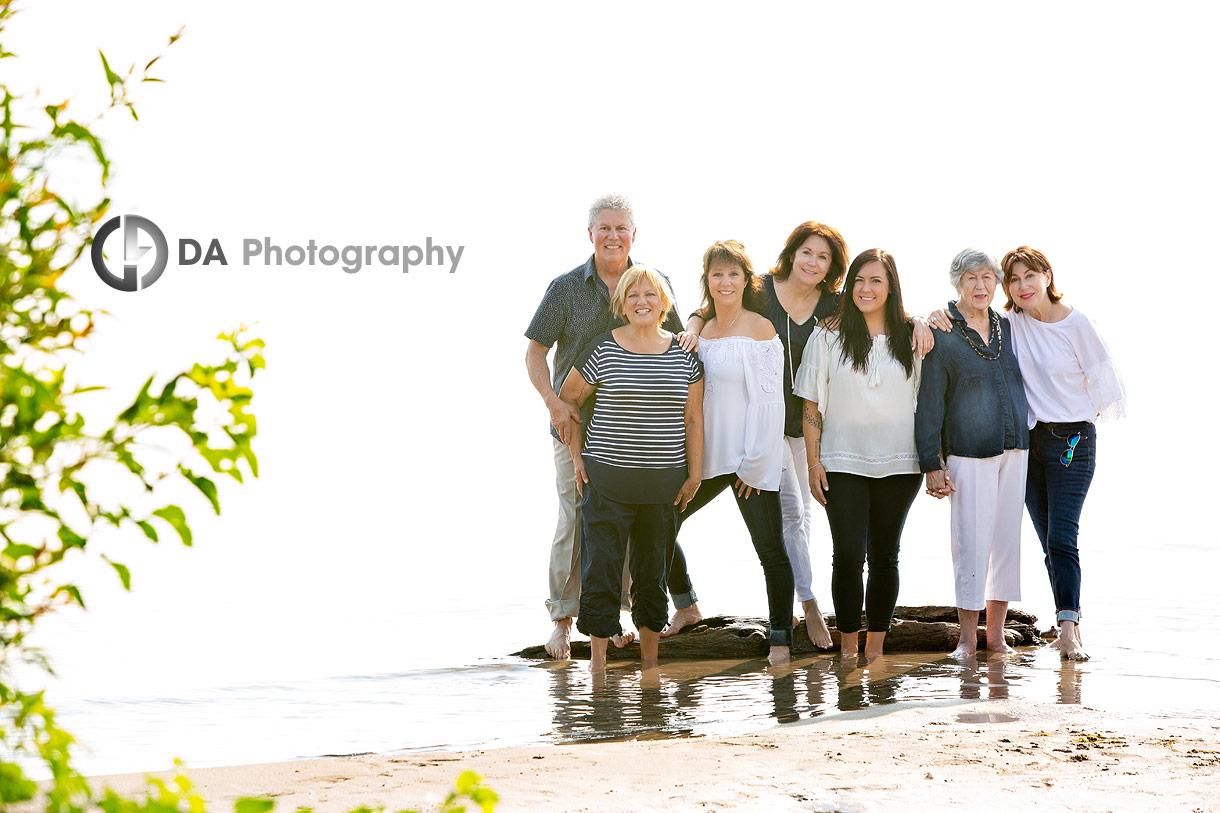 Beach family photos in Burlington