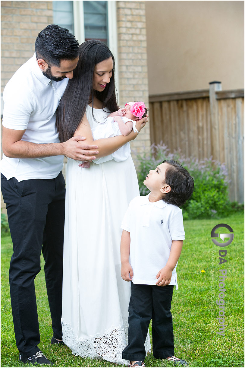 Backyard family pictures