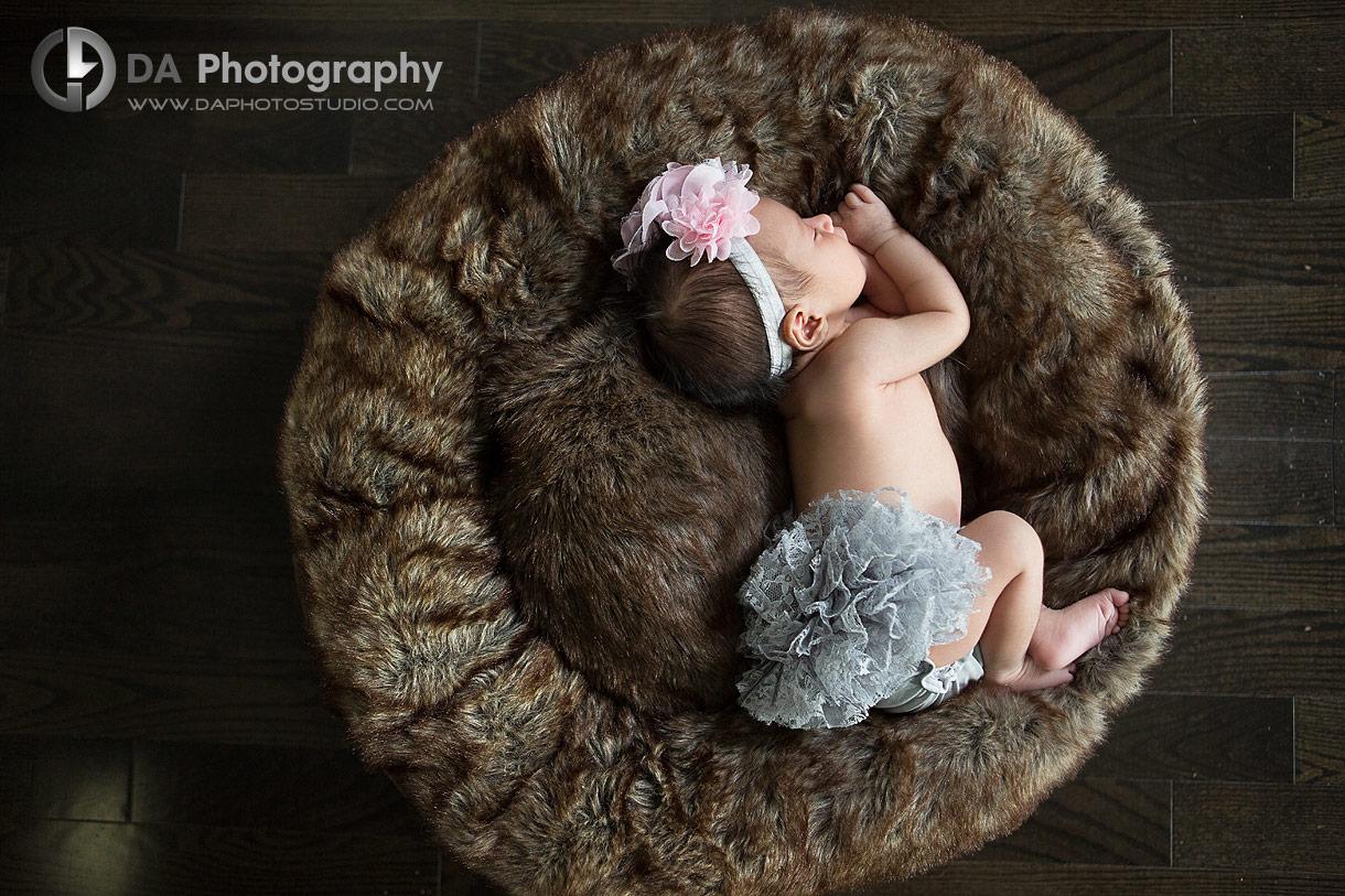 Newborn photographer in Brampton