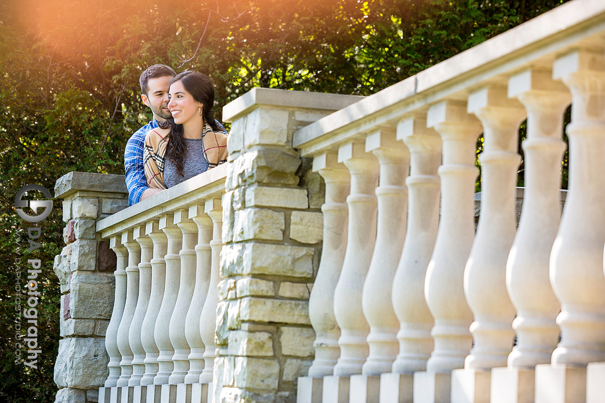 Paletta Lakefront Park sunset engagement pictures