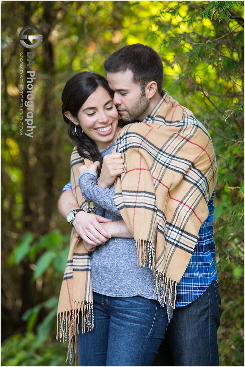 Engagement photographers in Burlington