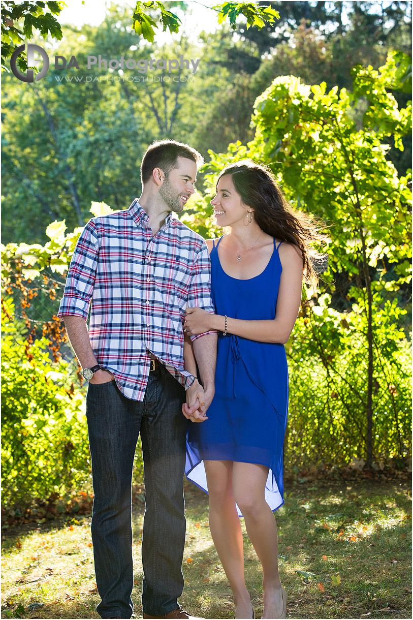 Engagement photography in Burlington