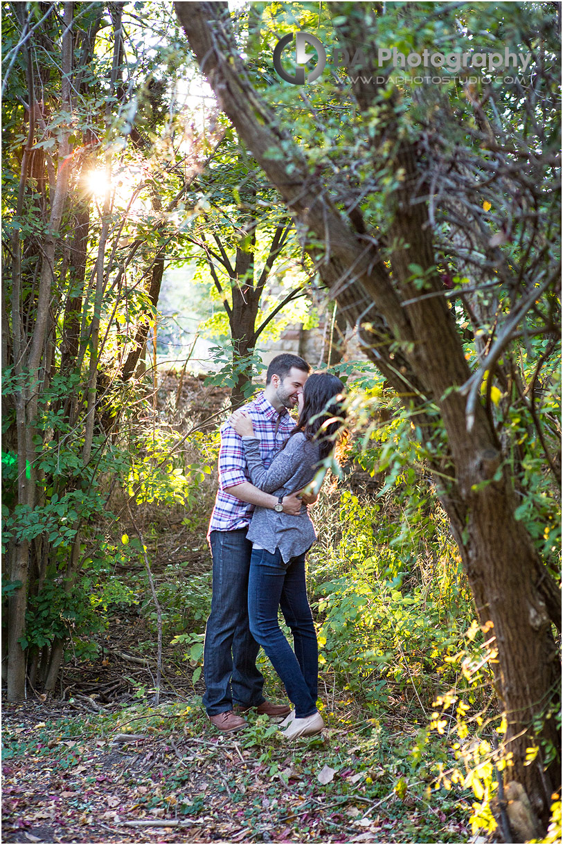 Top photo locations in Burlington for sunset engagement pictures