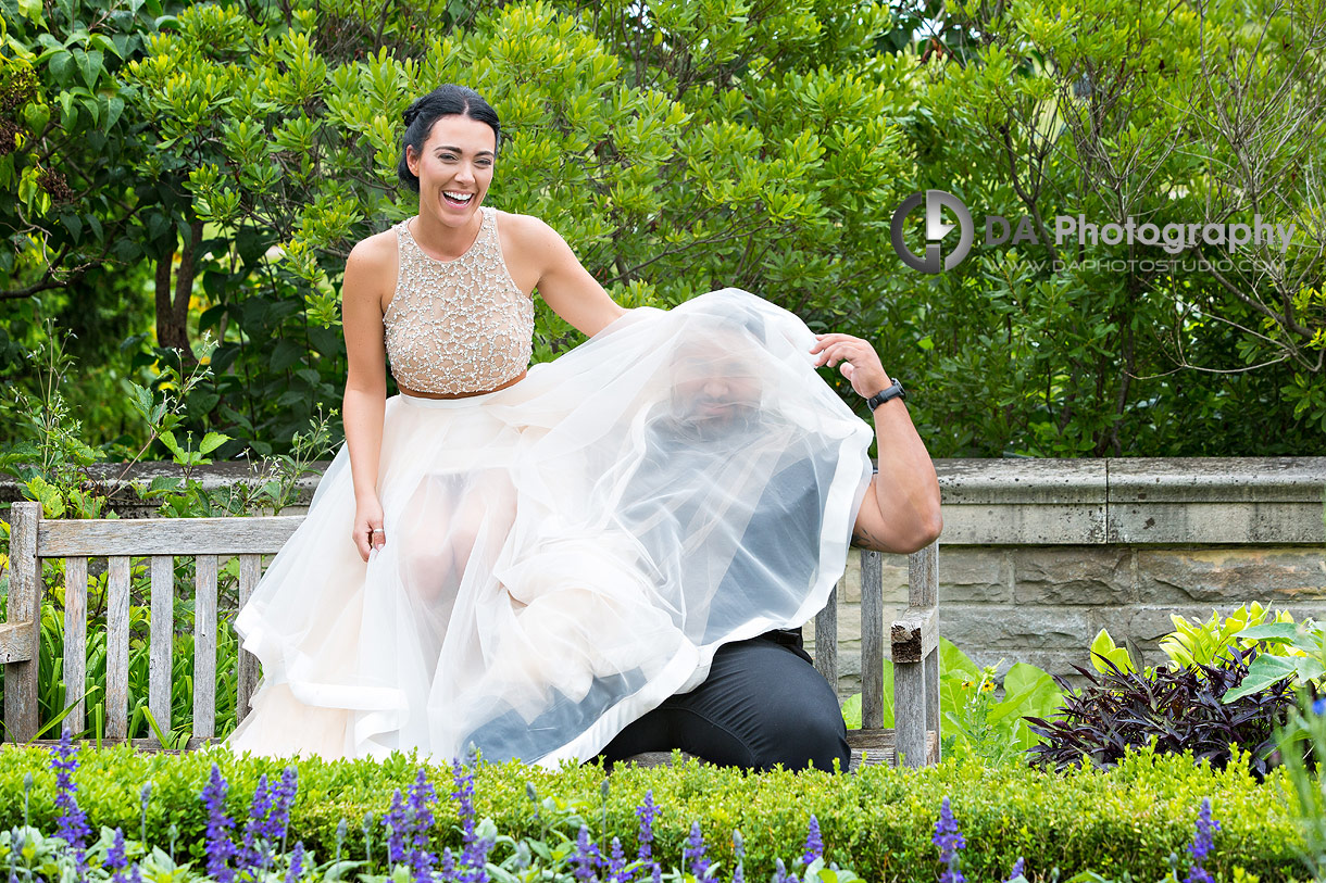 Engagement photographer in Burlington