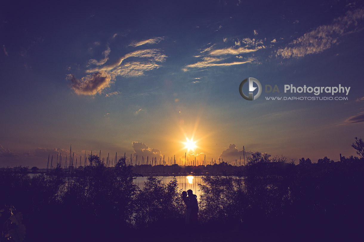Sunset photos at Colonel Samuel Smith Park