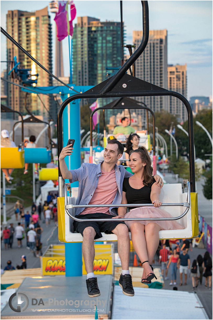 Top Engagement photographer at CNE