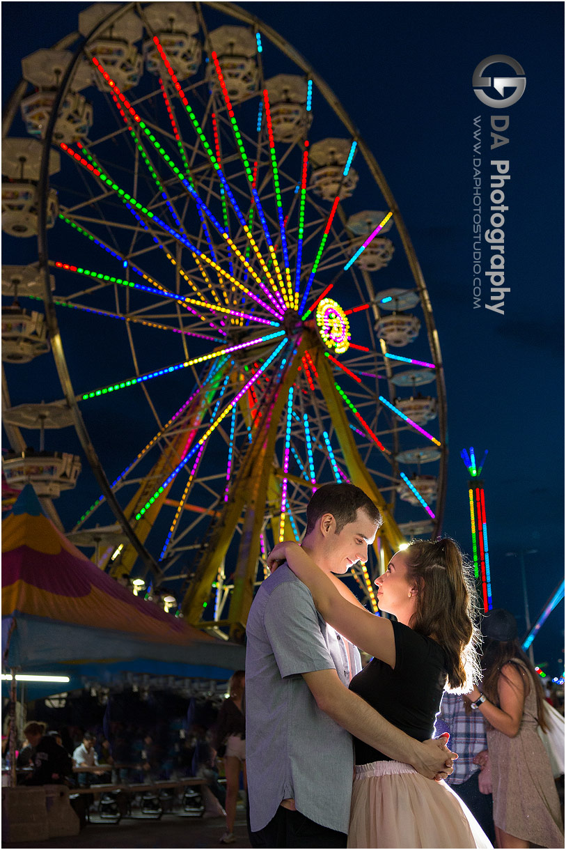 Engagement Photos at CNE