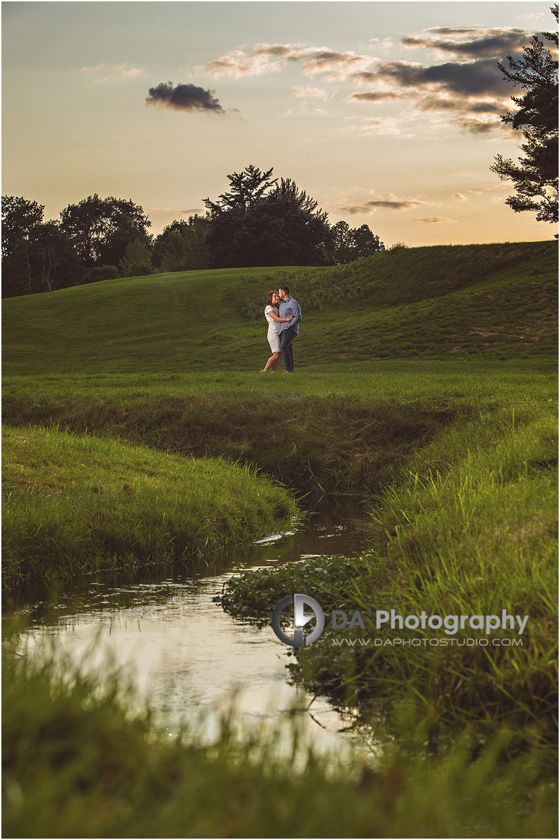 Hamilton Golf and Country Club engagement photos