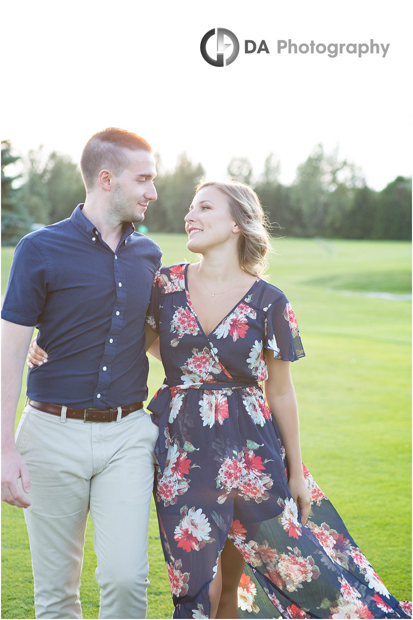 Golden hour photos at Gallucci Winery