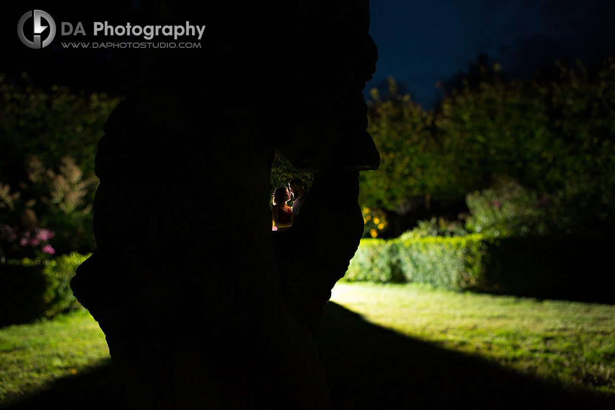 Engagement photographer at Whistling Gardens