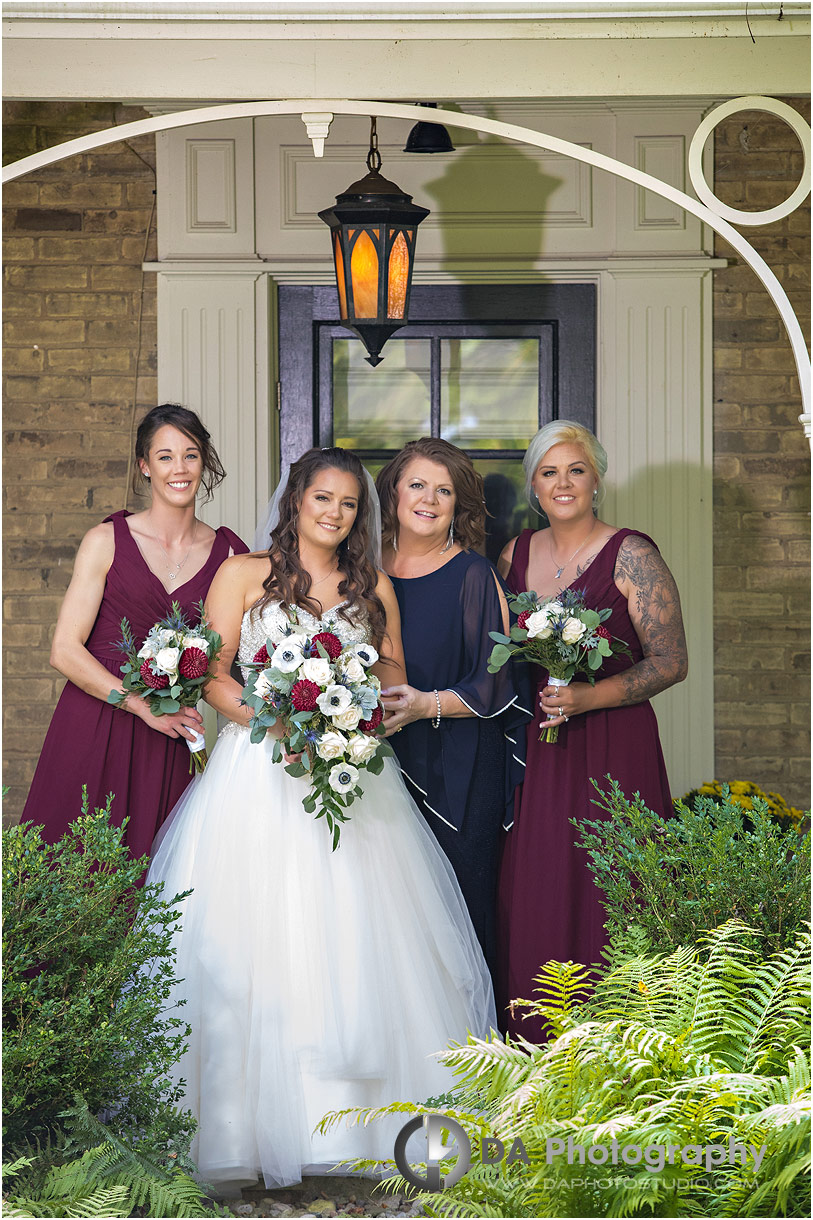 Bridesmaids in Brantford