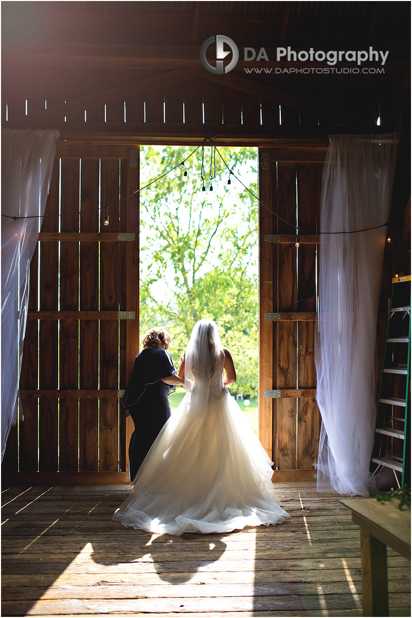 Photographs of Barn weddings