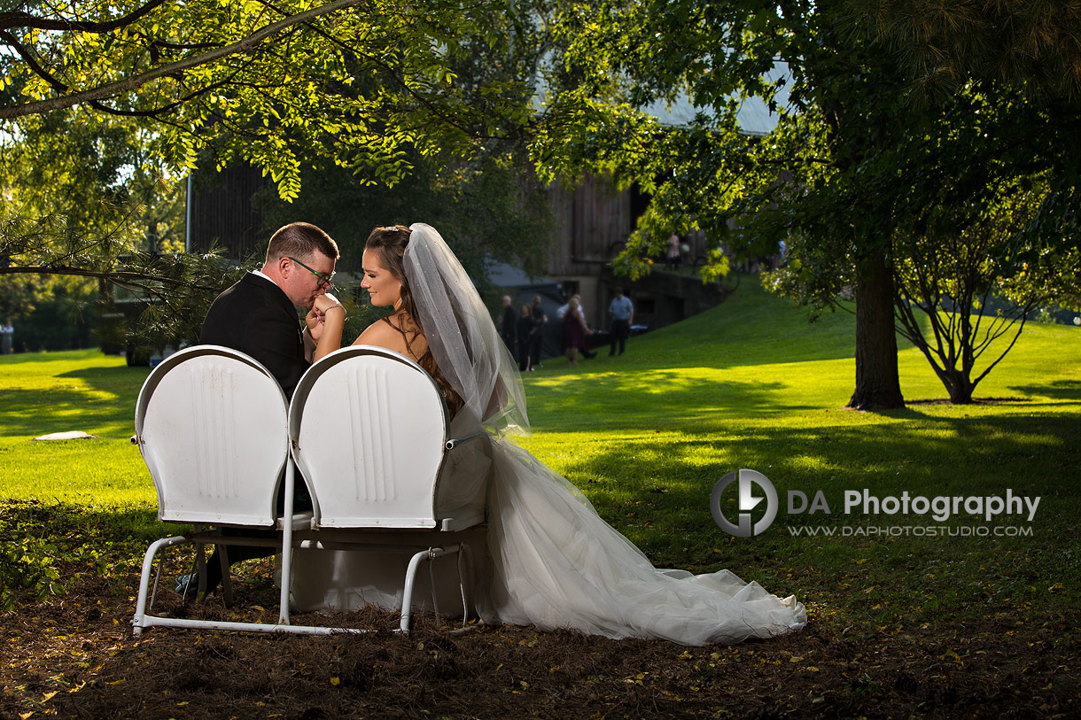Brantford Garden Wedding