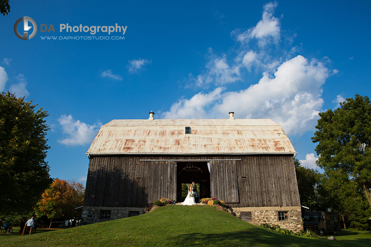 Barn Wedding in Brantford