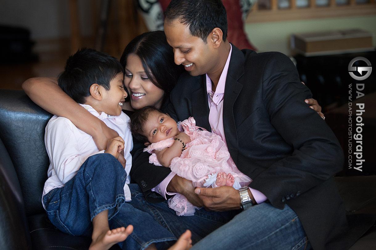Family photo session in Brampton