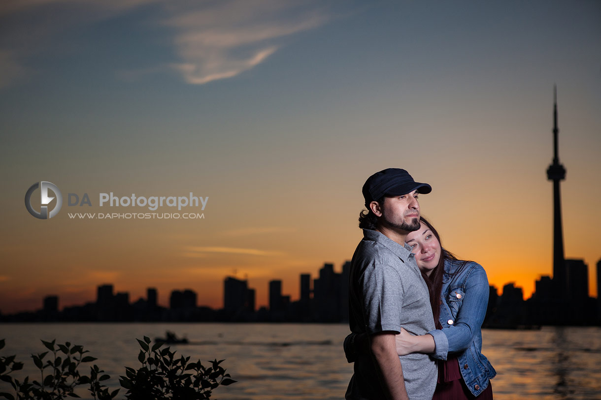 Toronto Islands Engagement Session