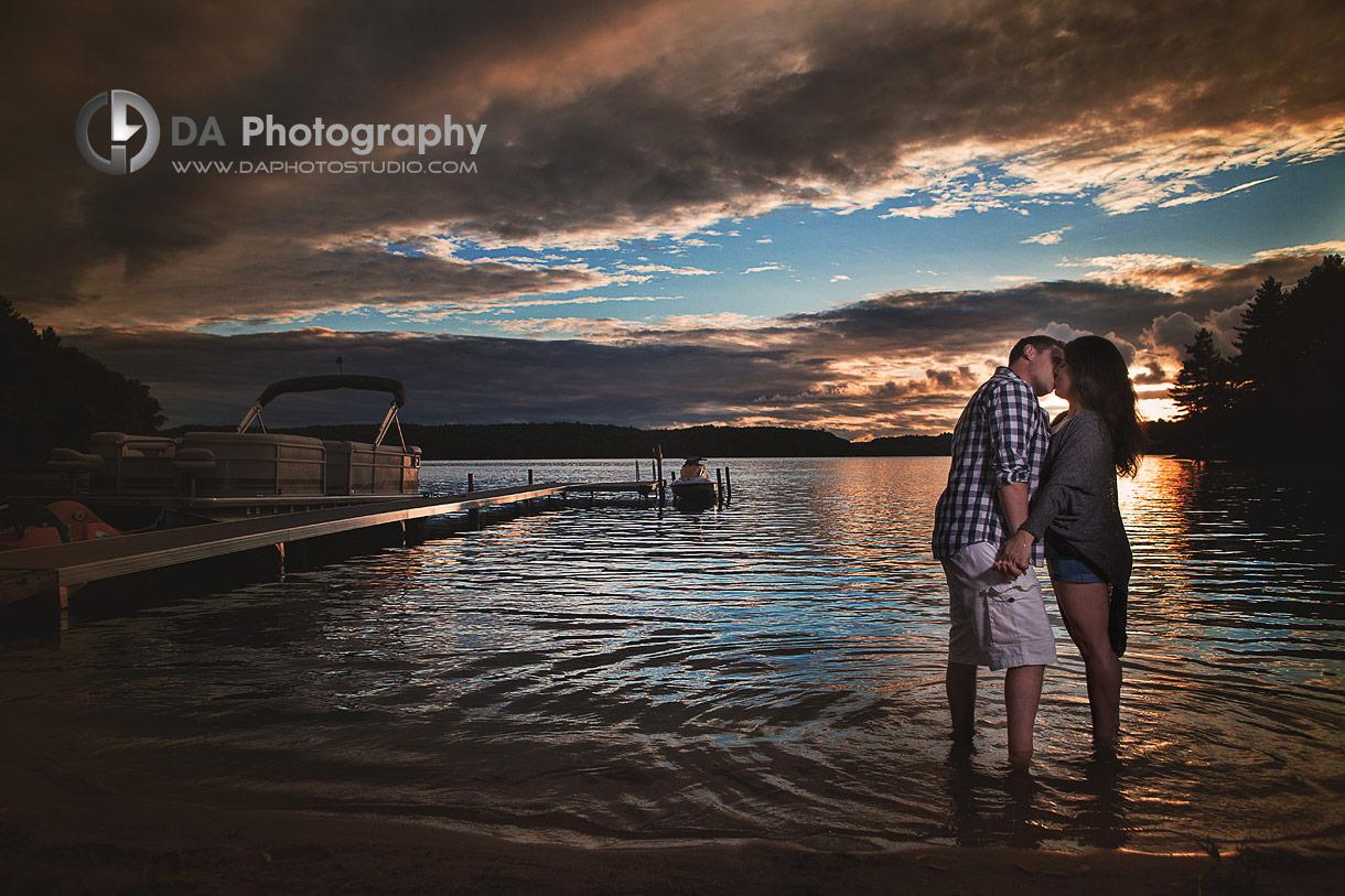 Muskoka sunset photos