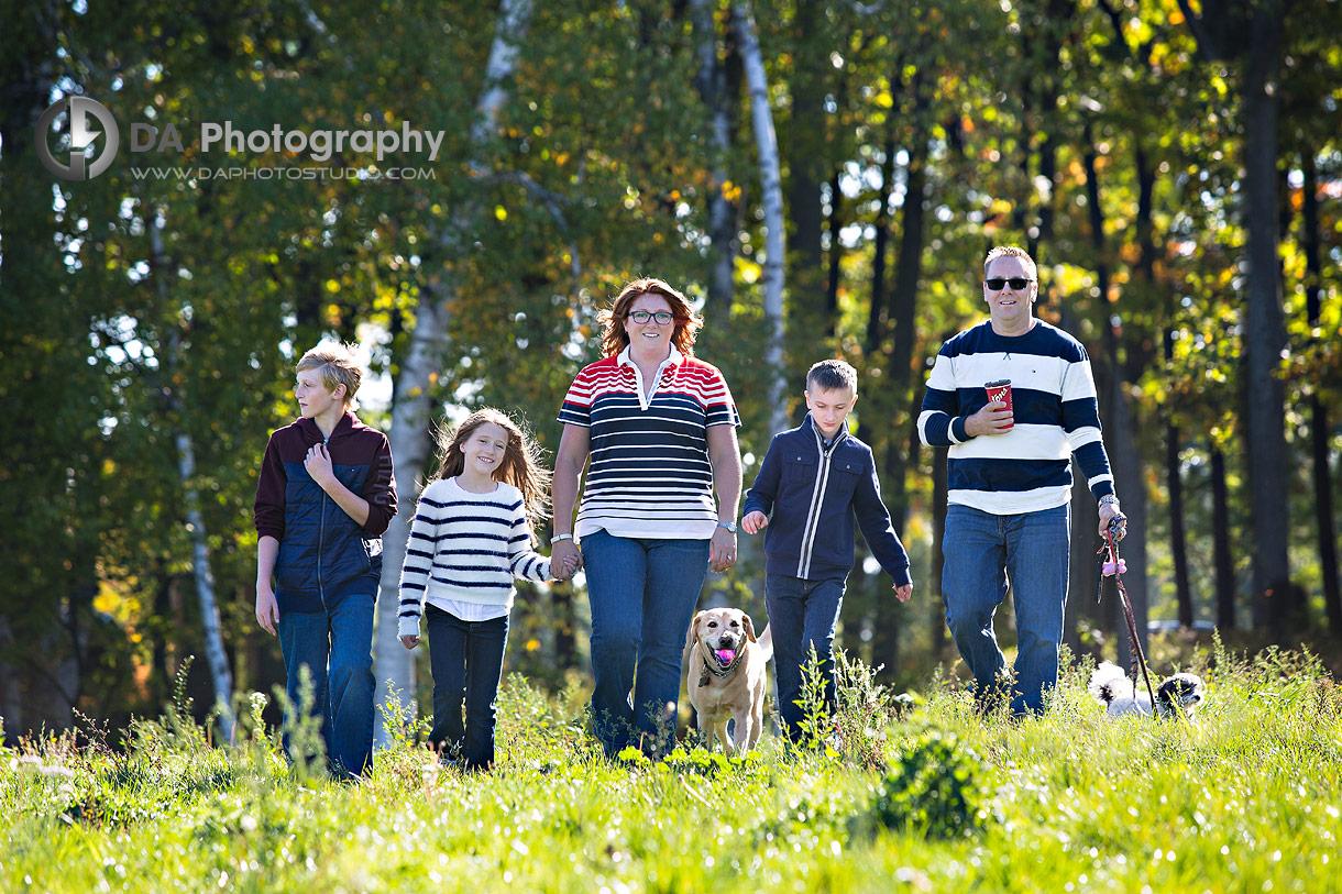 Barrie Arboretum Family Photography