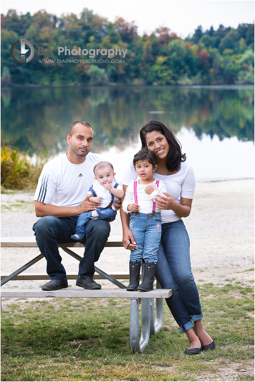 Young Family portrait in Brampton