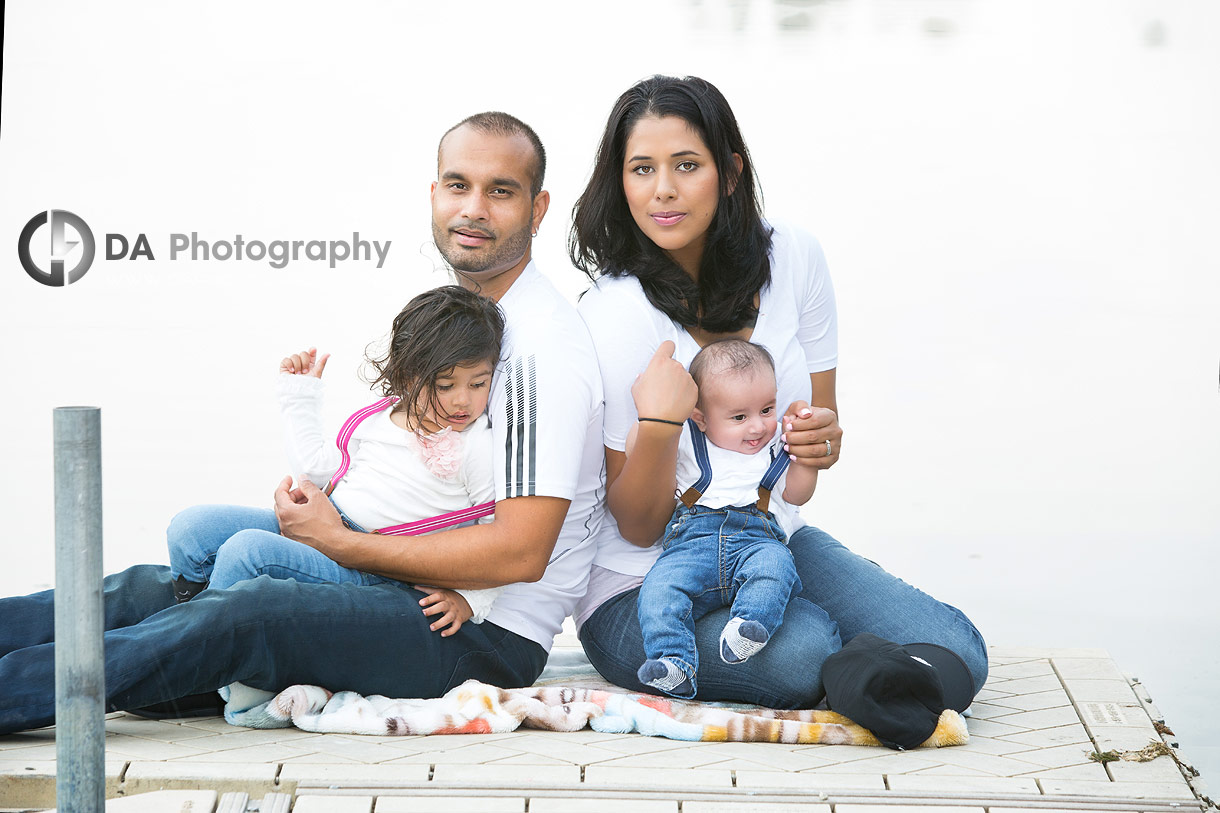 Family outdoor photos at Heart Lake Conservation Area