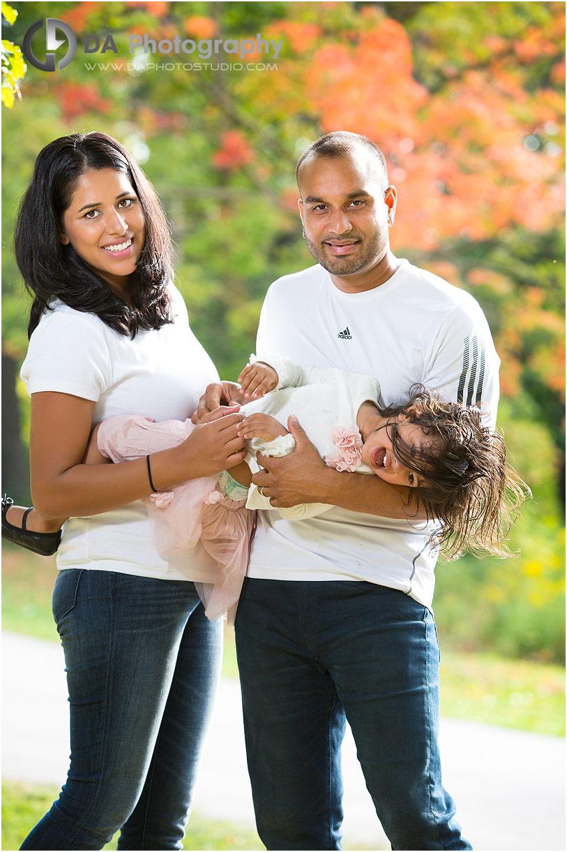 Fun Family outdoor photos