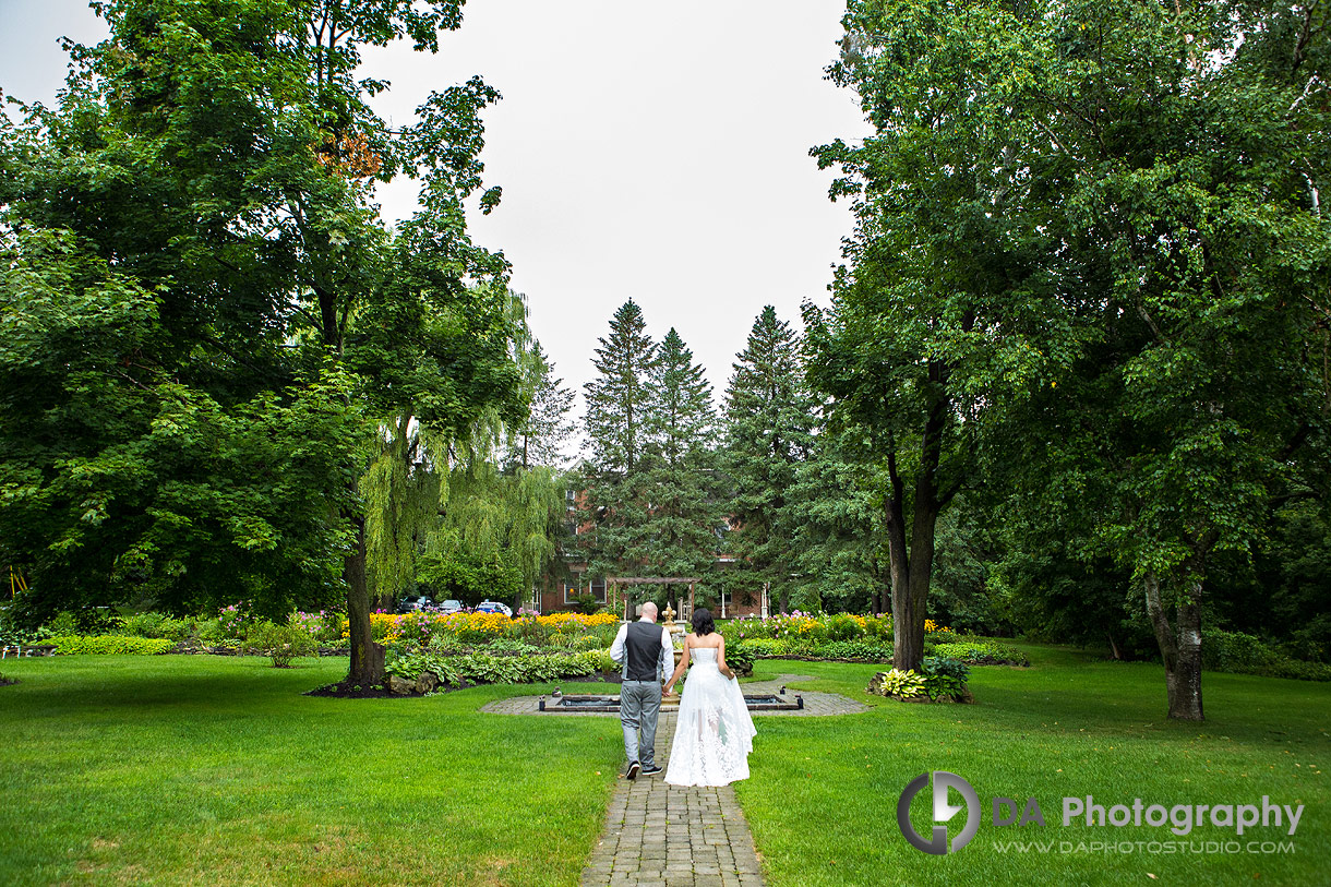 Intimate Wedding Photos at MillCroft Inn and Spa