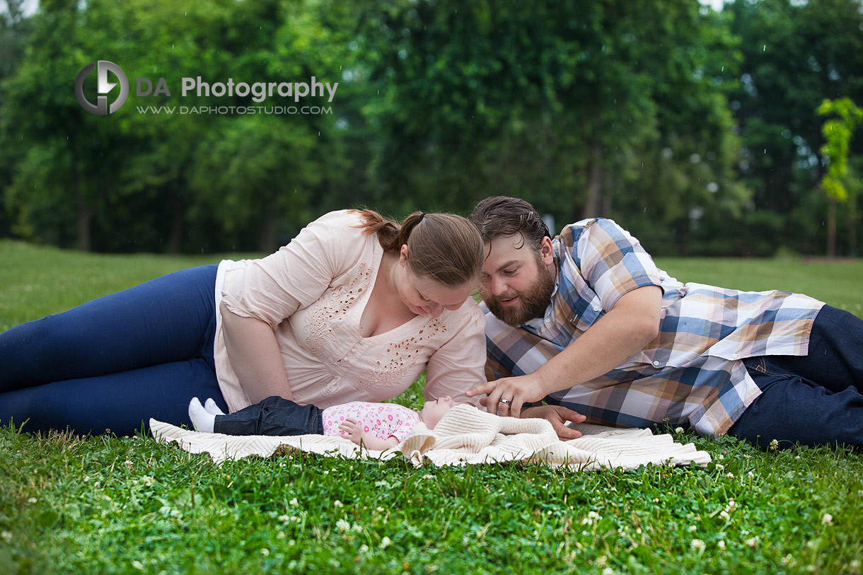 Best photo location for outdoor baby photos