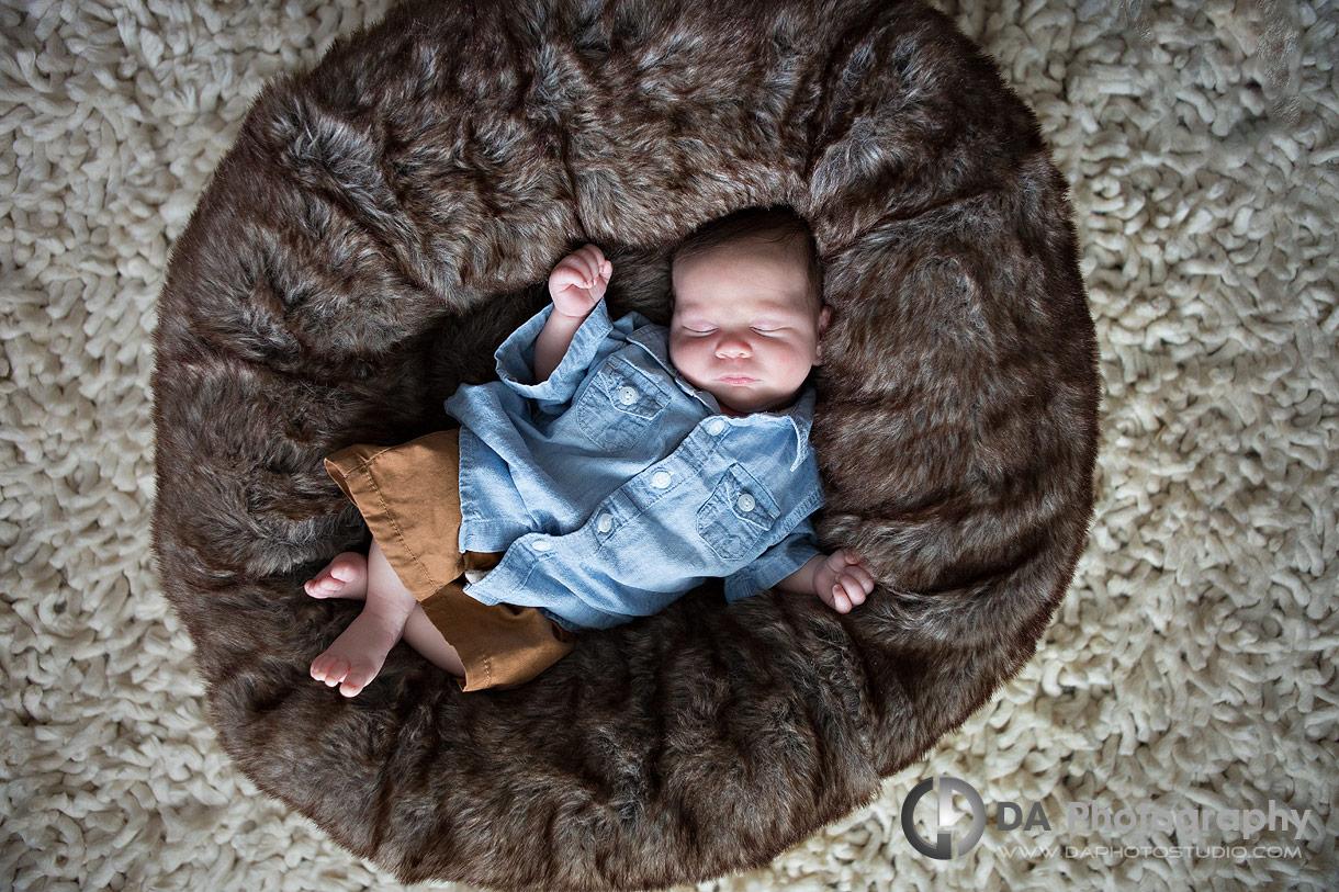 Sleeping baby photograph