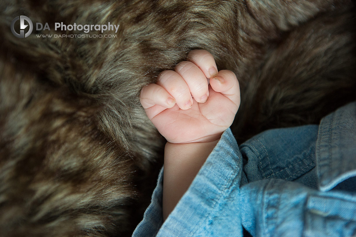 Photo of small baby hand