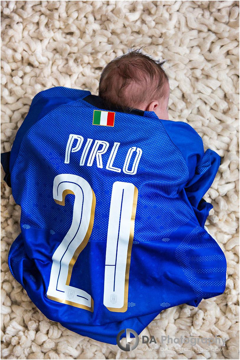 Youngest Italian soccer fan