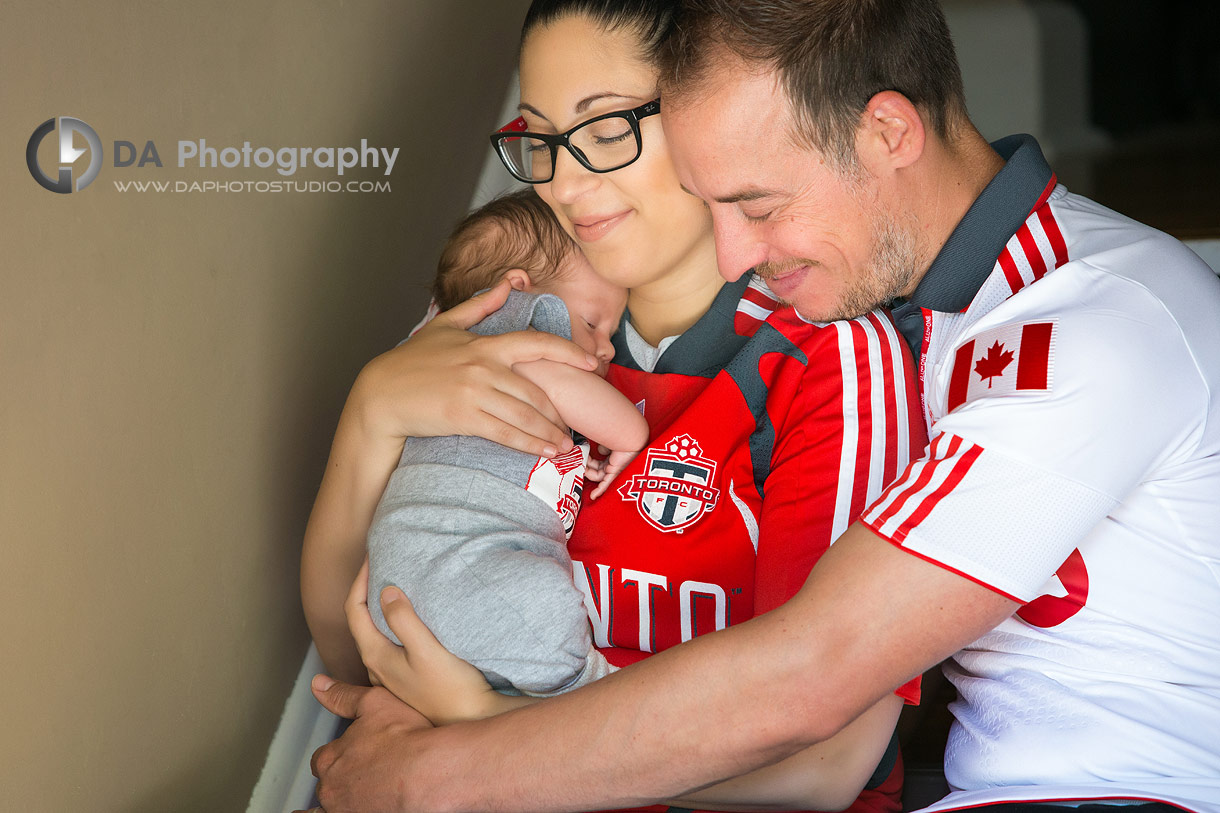 Sport theme family photography