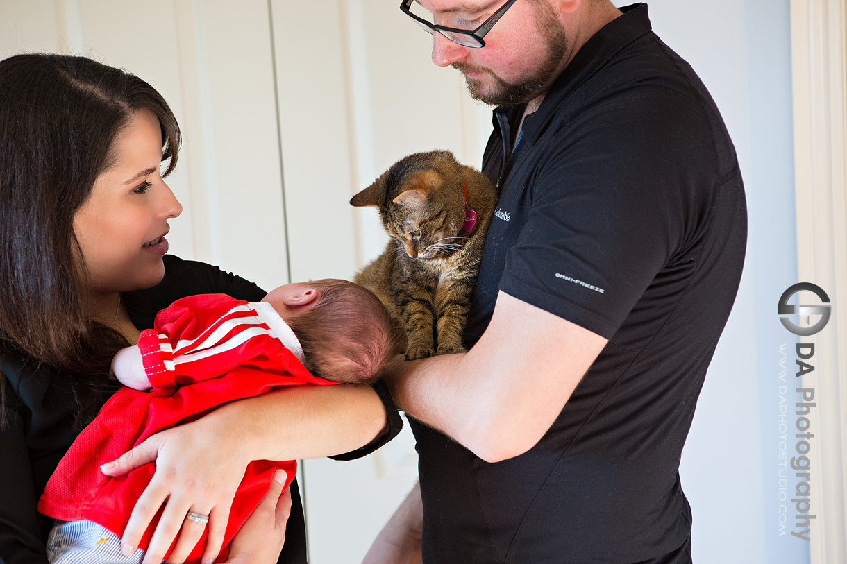 Port Dover lifestyle family photography with pets