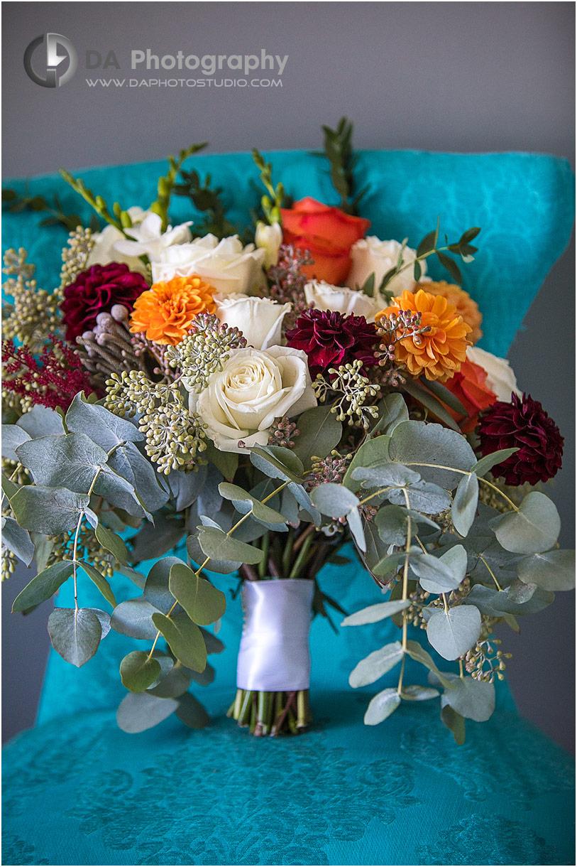 Wedding flower bouquet in Oakville