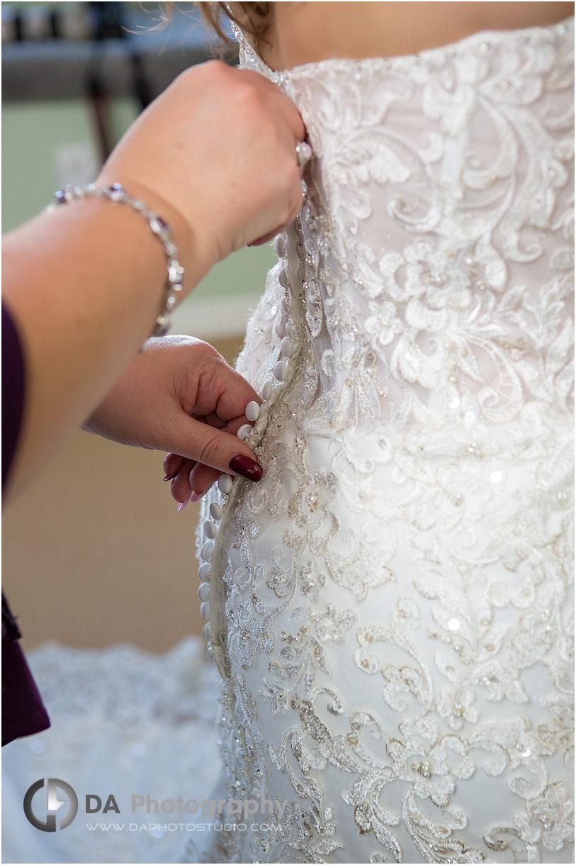 Wedding Dress at Oakville weddings