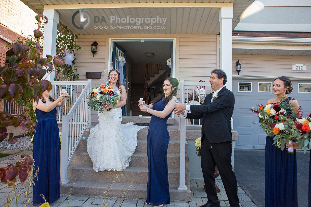 Bridesmaid Dresses at Church wedding