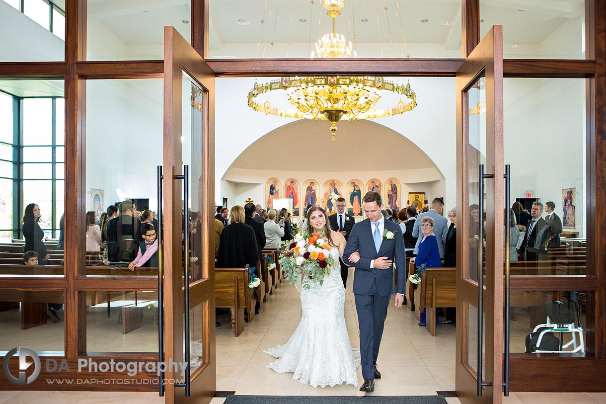 Wedding Ceremonies at St. Joseph's Ukrainian Catholic Church