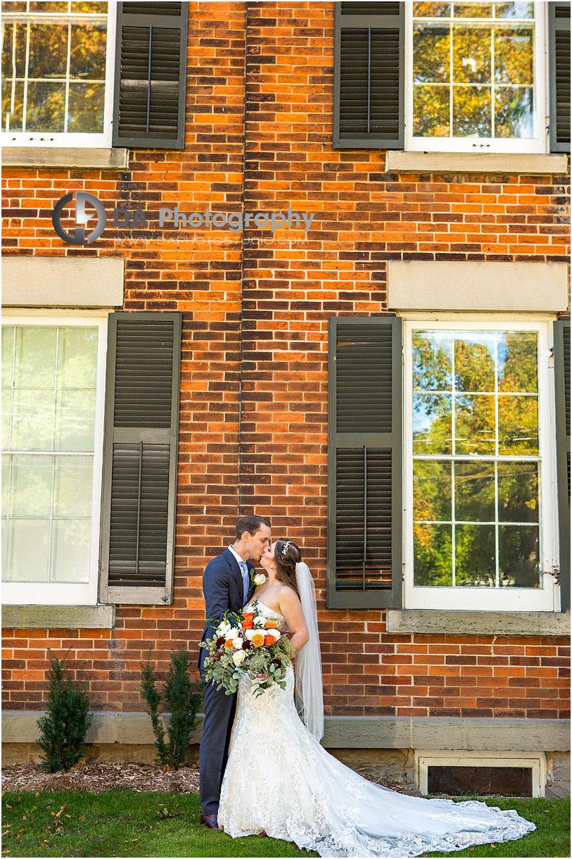 Outdoor Wedding at Oakville Museum